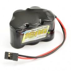 VOLTZ 1600mAh 6.0V NiMH RECEIVER PACK HUMP BATTERY (JR PLUG)