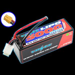 5000mAh 4s 14.8v 50C Hardcase LiPo Battery with XT60 Connector