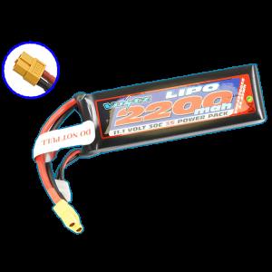 Voltz 2200mah 11.1v 30c Lipo Battery W/XT60