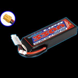 Voltz 3300mah 14.8V 30C LiPo W/XT60 331g 135mm x 25mm x44mm