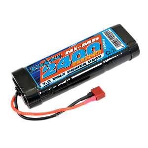 2400mAh 7.2v NiMH Stick Pack Battery w/Deans Connector