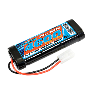 4600mAh 7.2v NiMH Stick Pack Battery w/Tamiya Connector