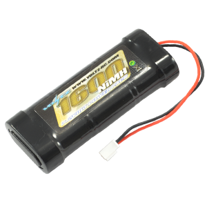 1600mah 7.2v NiMH Stick Pack Battery 6 Cell w/micro Connector