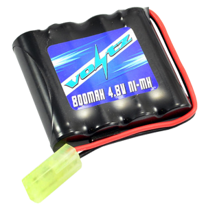 Hobby 800mah 4.8v Battery w/mini Tamiya Plug (HE00010)