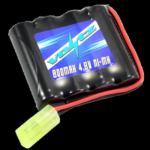 Hobby 800mAh 4.8v Battery w/mini Tamiya Plug (HE00010)
