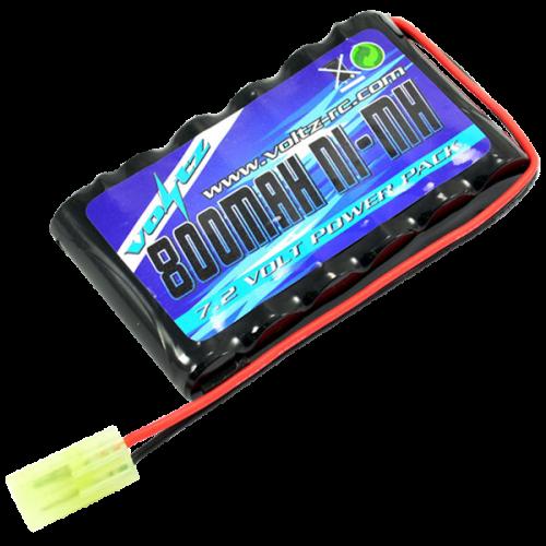 Hobby 800mAh 7.2v Flat AA Pack w/mini Tamiya Plug (HE00011)