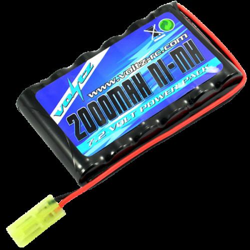 Hobby 2000mah 7.2v AA Pack w/mini Tamiya Plug (HE00011)
