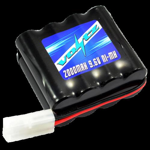 Hobby 2000mah 9.6v AA Hump Pack w/Tamiya Plug (HE00014)