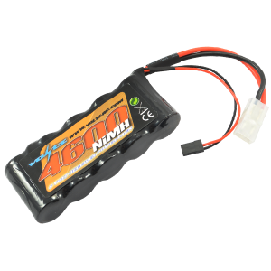 4600mAh 6.0v NiMH Receiver sub-c Pack Stick Battery w/bec/JR Plug