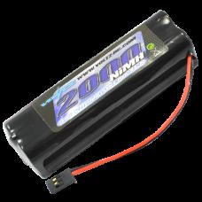VOLTZ 2000mAh 9.6V TX SQUARE BATTERY w/FUTABA CONNECTOR