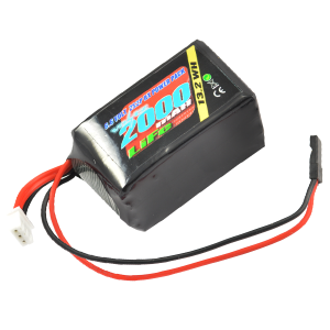 2000mah 2s 6.6v RX LiFe Hump Battery Pack