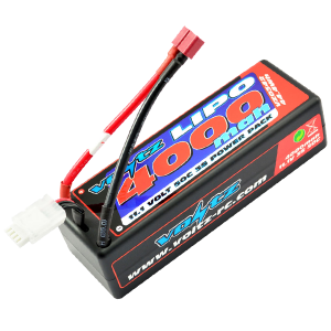 4000mAh 11.1v 50C Hardcase LiPo Stick Pack Battery