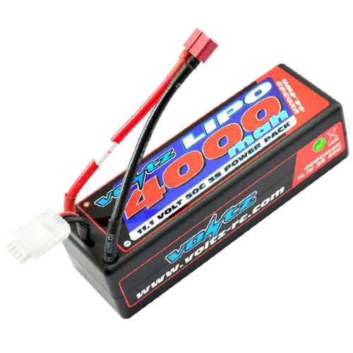 4000mah 11.1v 50C Hardcase LiPo Stick Pack Battery