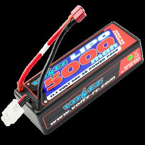 5000mAh 3s 11.1v 50C Hardcase LiPo Battery