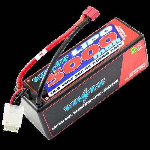 5000mah 4s 14.8v 50C Hardcase LiPo Battery