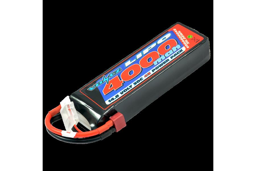 Voltz 4000mah 4s 14 8v 30c Lipo Battery