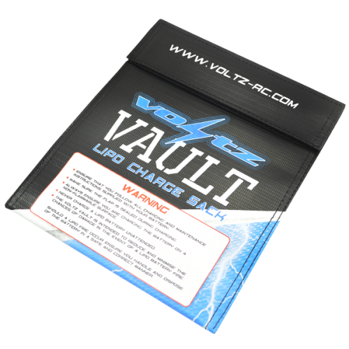 Voltz Vault LiPo Battery Charge Sack - Medium (22cm x 18cm)